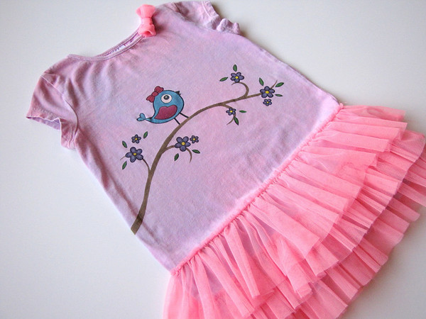 """Pretty lil' Princess"" Tutu Top <br> Size 24 months"